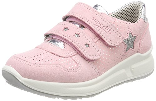 Superfit Mädchen Merida Sneaker, Pink (Rosa Kombi), 30 EU