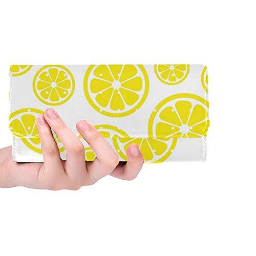 Único Personalizado Extracto Limón Mujeres Monedero
