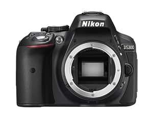 Nikon D5300 Fotocamera Reflex, solo corpo, body + SDHC 8GB
