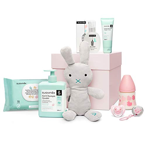 Suavinex - Canastilla regalo recién nacido, 0-6 meses