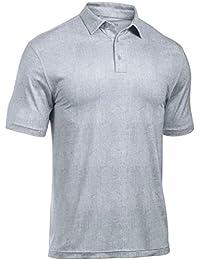 4ba45dd604f Under Armour Mens Crestable Playoff Tweed Golf Polo Shirt