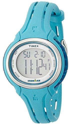 Timex Ironman Sleek 50-Lap Mid-Size Watch - Turquoise