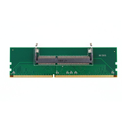 AST Works DDR3 Laptop 204Pin SO-DIMM to Desktop 240Pin DIMM Memory RAM Connector Adapter
