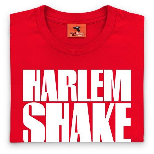 Harlem Shake Text T-Shirt, Herren Rot ...