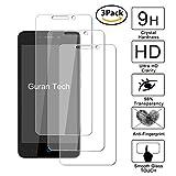 Guran® [3 Stück Displayschutz Glasfolie für ZTE Blade A452 Smartphone Hartglas Schutzfolie Film Kompatibel Panzerglasfolie