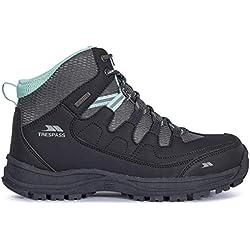 Trespass Mitzi, Chaussures de Randonnée Hautes Femme, Gris (Iron IRO), 36 EU