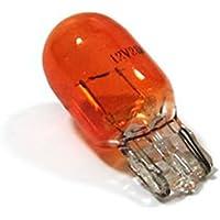 Bombilla para intermitentes lámpara naranja WY21W Casquillo de cristal 21W 12V