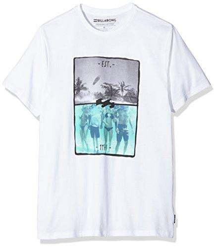 G.S.M. Europe - Billabong Herren Chill Tee T-Shirt deep sea