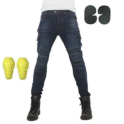 Atack-B Pantalones De Motociclismo Para Hombres