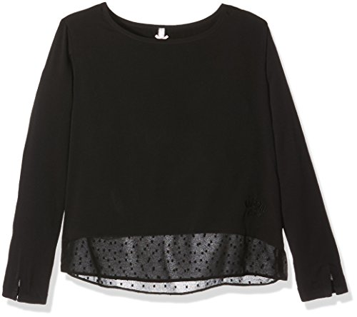 Kaporal Popa, Camicia Bambina, Nero, 12 Anni