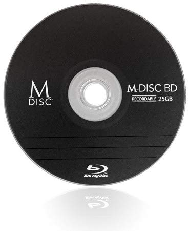 Millenniata MDBD015 Rohling Transparent/Weiß