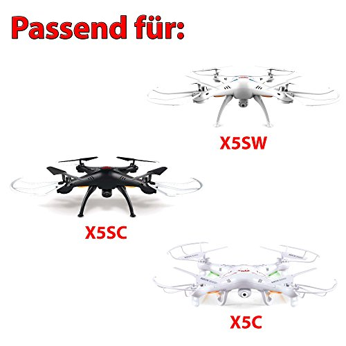 1x Power 700mAh LiPo Upgrade Akku für Syma X5C X5SC X5SW Quadcopter, Ersatzteil, Ersatzakku,Neu - 2