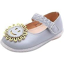 Scarpe per Neonato Femminile vovotrade Bambine Fiore dei Cartoni Animati  Scarpe da Principessa Sandali accoglienti Scarpe 20d9d148256