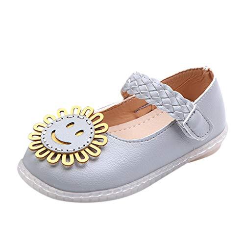6265a6aea141f Moonuy Toddler Filles Chaussures Simples Infantile Enfants Mignon Tournesol  Chaussures Plates Nouveau-Né Bébé Filles