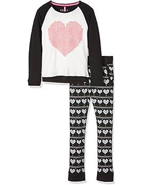 Lina Pink Ef.Wool.Plk.mz, Set Abbigliamento Sportivo Bambina