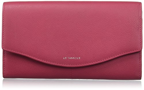 Le Tanneur - Valentine anti RFID TTZ3601 - Portefeuille - Femme - Rose (Fushia) - 2x10x19 cm (W x H x L)
