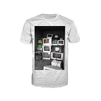 Atari Computer Screens Mens Extra Large T-shirt White