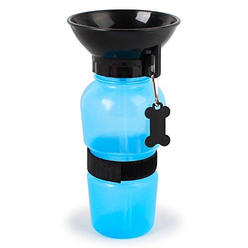MARCHY Auto Dog Mug Reisen Portable Dog Wasserflasche Dog Mug - Die intelligente Art und Weise zu halten Ihren Hund hydratisiert auf dem Sprung