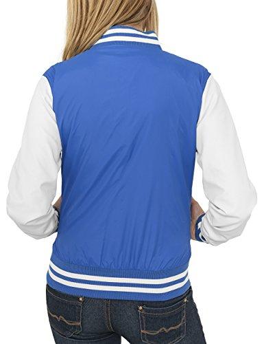 Urban Classics Damen Jacke Ladies Light College Jacket Violett (roy/wht 204)