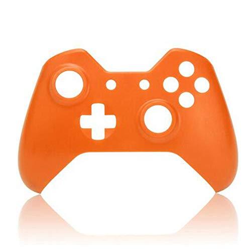 Orange Handy-faceplates (FeLiCia Soft Touch Front Gehäuse Shell Faceplate Ersatz Für Xbox One Controller - Orange)