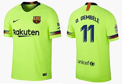 F.C. Barcelona Trikot Kinder 2018-2019 Away - Dembele 11 (152)