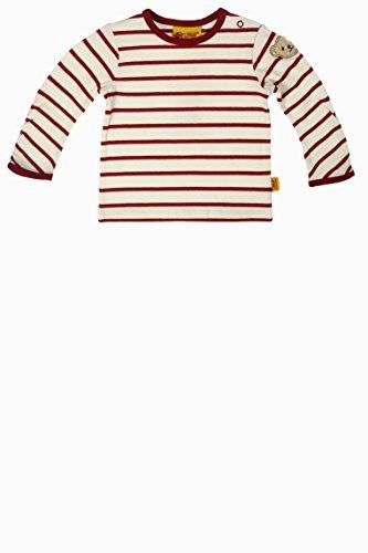 Steiff Baby - Mädchen Langarmshirt T - Shirt 1/1 Arm, Gr. 104, Rot (scooter red 2126)