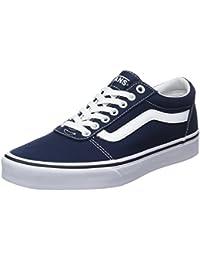 Vans Ward Canvas, Zapatillas para Hombre, Azul (Dress Blues/White Jy3), 43 EU