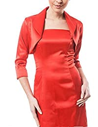 40d63fcbd068 Kurzmantel Elegante Mode Frühling Damen Sommer Cardigan Bolero Unifarben  Langarm Classic Unikat Seide Slim Fit Party Bolerojacke…