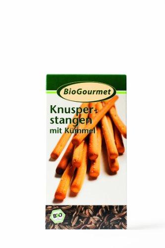 BioGourmet Knusperstange mit Kümmel, 8er Pack (8 x 100 g)