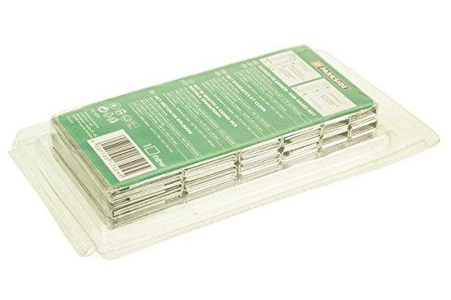 Elektro Tacker Klammer Nagelset 3000Stck bestehend aus 3 Längen a 600 x 15/20/25mm 4 Längen a 300 x 15/20/25/32