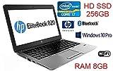 """HP ULTRABOOK 820 CORE I7 3,3 GHZ 12,5"""" RAM 8 GB SSD 256 GB WIN 10 PRO CON ZAINO SAMSUNG IN OMAGGIO (Ricondizionato)"""