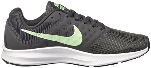 Nike Wmns Downshifter 7, Scarpe da Ginnastica Basse Donna Grigio (Anthracite/fresh Mint-dark Grey-white)
