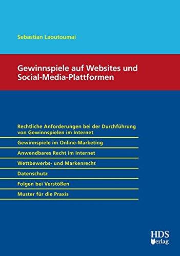 Gewinnspiele auf Websites und Social Media Plattformen
