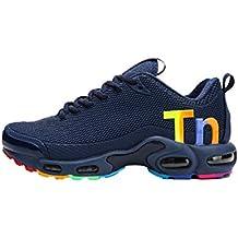 5206e7b3d91 Air Plus TN Sneakers Chaussures de Sport Confortables Chaussures de Fitness  Respirantes Chaussures de Course légers