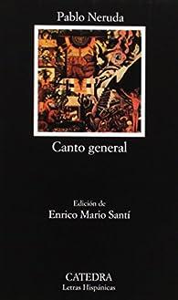 Canto general par Pablo Neruda