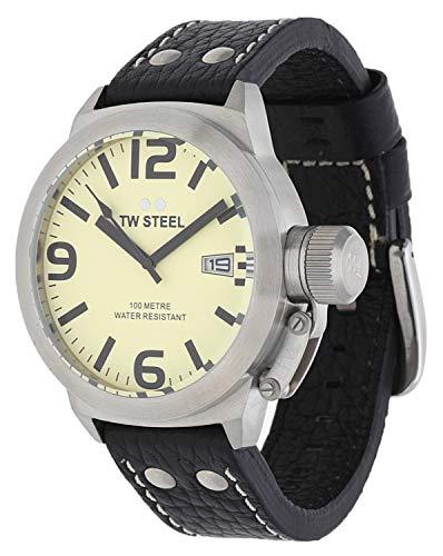 TW Steel orologio da polso uomo Canteen NERO TW di 1–1