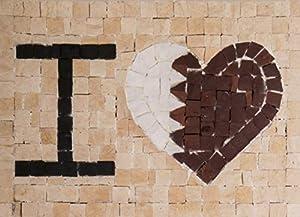 Trois petits points Juego de Tres pequeños Puntos de Mosaico Completo M Love Qatar-Maxi, 6192459601045, Universal