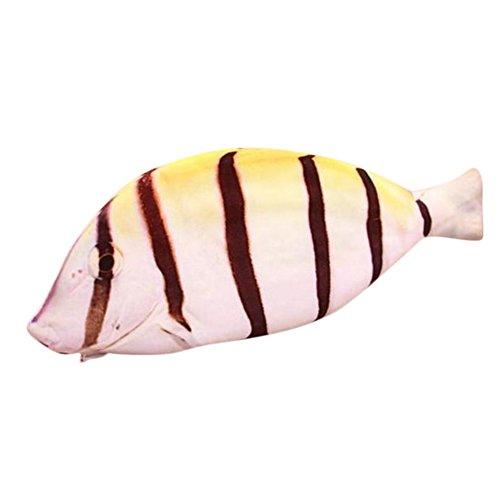 bigboba Creative Simulation Salted Fisch Bleistift Fall Kosmetiktasche Make-up Tasche Kulturbeutel Bleistift Tasche für für Schüler Jungen Mädchen C