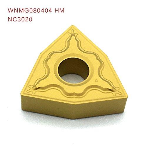 10pcs wnmg080404 hm nc3020 schneiden cnc - dreher aus siliziumkarbid schneidwerkzeug aus beilagen klinge