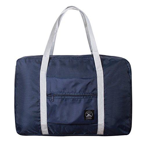 SPAHER Foldable Reisetaschen Duffle Bag 32L Ultra Leichtgewichtig Faltbar Packbar Wasserdichte Gepäck Handtasche Schulter Organizer Aufbewahrung Tragen Tasche Handgepäck Für Shopping Sport Camping (Organizer Schulter Tasche)