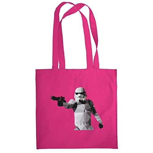 Texlab–Poly Gun Trooper–sacchetto di stoffa Pink