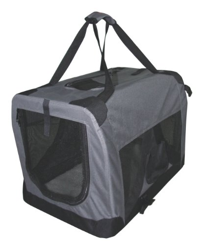 Nylon-Transportbox + Indoor Hundehütte AMIGO 70