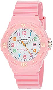 Casio Women's Resin Band Watch, Analog Dis