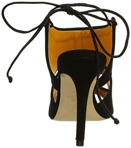 Atelier Mercadal 5392, Sandales Femme Noir (Camoscio Nero)