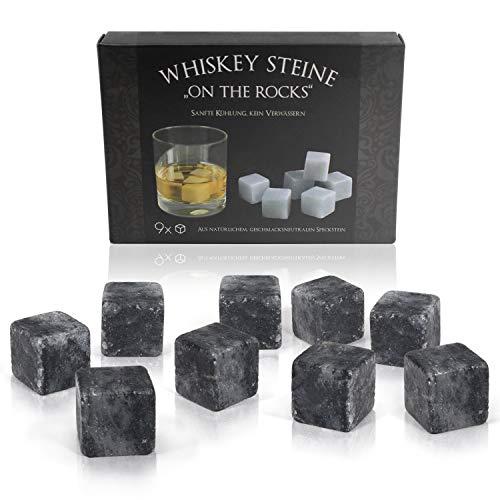 Amazy Cubitos Hielo Whisky 9 cubitos - Whisky Stones