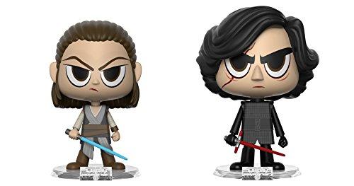 "Funko 31619 VYNL 4"" 2-Pack: Star Wars: Rey & Kylo (The Force Awakens), Multi"