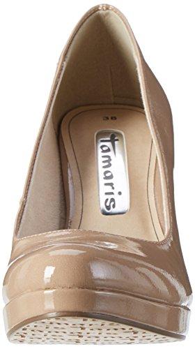 Tamaris 22426, Scarpe con Tacco Donna Beige (Nude Patent 253)