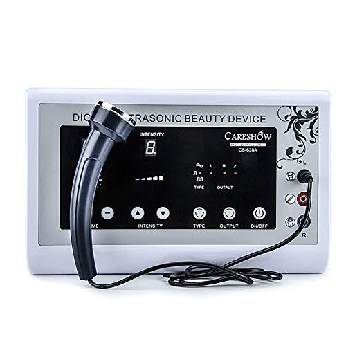 GWJ-Máquina Facial De Radiofrecuencia 220V: Aprieta La Piel Y Disminuye Las Arrugas Finas, Instrumento De Belleza Ultrasónico (Sonda Facial + Sonda Ocular + Saca La Pluma)