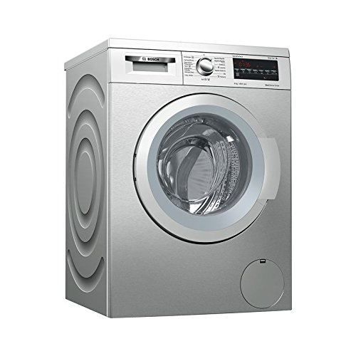 Bosch Serie 6 WUQ2848XES Independiente Carga frontal 8kg 1400RPM A+++ Acero inoxidable...