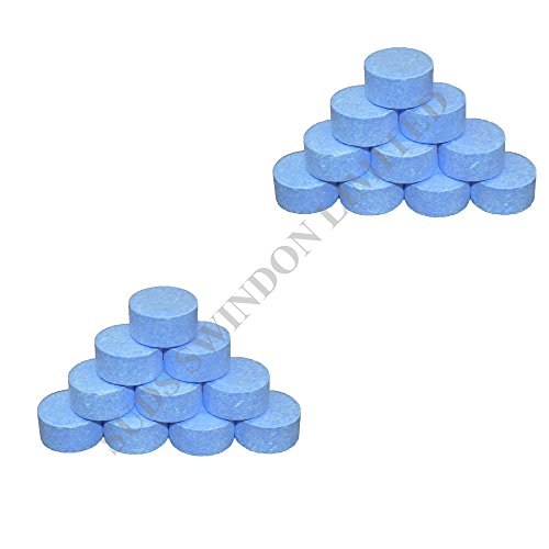 SUDS-ONLINE 20 X Chlorine 20g Chlorine Tablets for Spa/Hot Tub/Swimming Pool